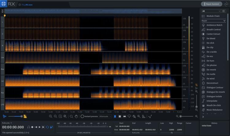iZotope RX 8 Audio Editor Advanced v8.00 AAX macOS-XDIE